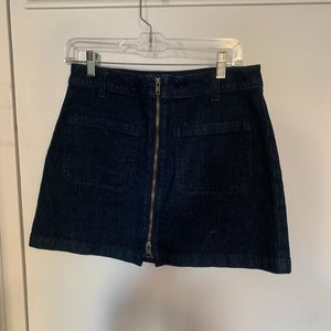 Madewell Denim Skirt size 28
